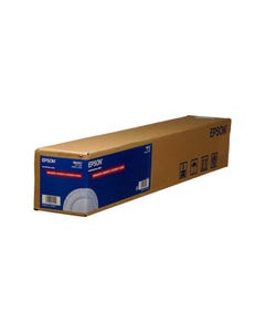 EPSON ENHANCED ADHESIVE SYNTHETIC INKJET PAPER ROLL 135GSM 24IN X 100FT WHITE
