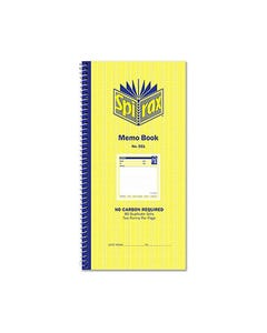 SPIRAX 551 MEMO BOOK CARBONLESS 80 PAGE 279 X 144MM