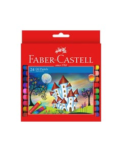 FABER-CASTELL OIL PASTELS ASSORTED PACK 24