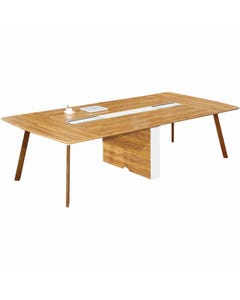 ARBOR EXECUTIVE BOARDROOM TABLE 3200 X 1300 X 720MM AMERICAN WALNUT