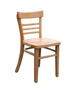 VIENNA CHAIR NATURAL TIMBER SEAT