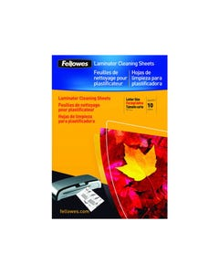 FELLOWES LAMINATION CLEANING CARRIER A4 PACK 10