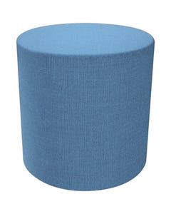 FINESEAT DOT ROUND OTTOMAN SMALL BLUE