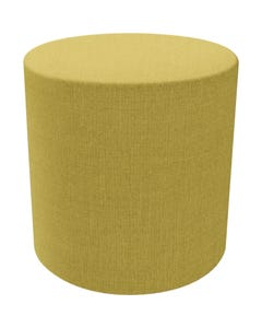 FINESEAT DOT ROUND OTTOMAN MEDIUM YELLOW
