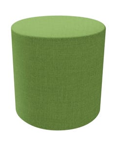 FINESEAT DOT ROUND OTTOMAN LARGE GREEN
