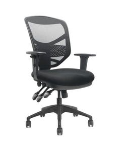 FINESEAT COMET 100 MESH BACK TASK CHAIR ARMS BLACK