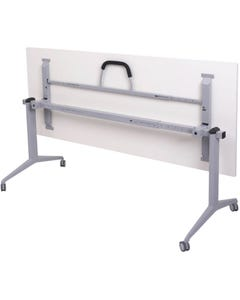RAPIDLINE FLIP TOP TABLE 1800 X 750MM WHITE