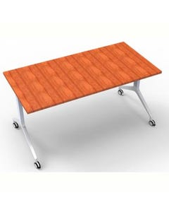 RAPIDLINE FLIP TOP TABLE 1800 X 750MM CHERRY