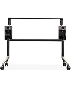 RAPID EDGE FOLDING TABLE FRAME 2095 X 710MM BLACK