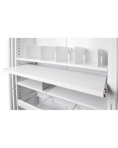 GO PULL OUT FILE SHELF FOR 1200MM TAMBOUR CUPBOARD WHITE CHINA
