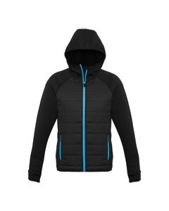 Biz Collection Mens Stealth Tech Hoodie J515M