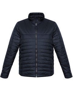 Biz Collection Mens Expedition Quilted Jacket J750M