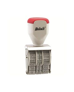 DESKMATE RUBBER DATE STAMP 4MM 12 YEAR BAND