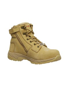KingGee Women's Tradie Zip Safety Boot K27380