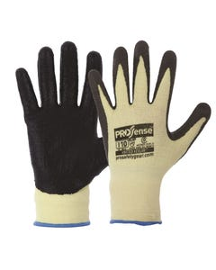 Pro Choice® 13 Gauge Knitted Kevlar With Black Nitrile Palm Gloves KKN