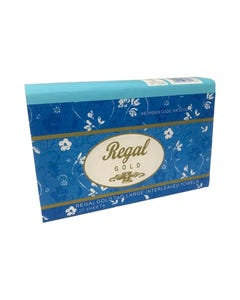 REGAL GOLD TAD INTERLEAVED HAND TOWEL 305 X 210MM 120 SHEET