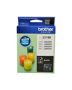 BROTHER LC231 INK CARTRIDGE BLACK