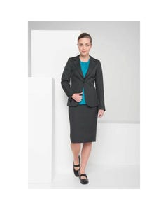 LSJ Collection Button Feature High Rise Skirt 379-ME