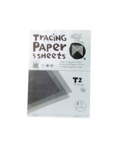 MICADOR TRACING PAPER 65GSM A3 WHITE PACK 5