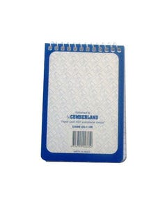 CUMBERLAND NOTEBOOK REFILL SPIRAL BOUND RULED 100 PAGE 75 X 110MM
