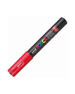 POSCA PC-1M PAINT MARKER BULLET EXTRA FINE 1.0MM RED