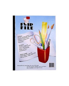 FLIP FILE 10 POCKET A4