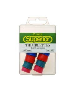 SUPERIOR THIMBLETTES ASSORTED SIZES BOX 10