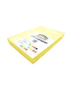 RAINBOW COLOURED A3 COPY PAPER 80GSM 500 SHEETS SAND