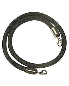 VisionChart 25mm Braided Q-Barrier Ropes 1.5M Black