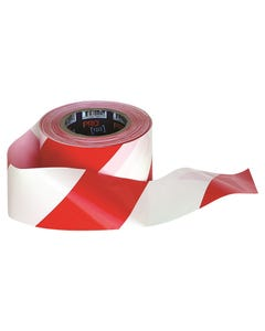 Pro Choice® Barricade Tape - 100m x 75mm Red & White RW10075