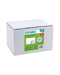 DYMO 0904980 4XL SHIPPING LABEL 104 X 159MM WHITE PACK 6