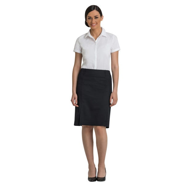Corporate Comfort Lexi Sorbtek Box Pleat Skirt SK2