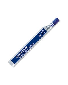 STAEDTLER 250 MARS MICRO CARBON MECHANICAL PENCIL LEAD REFILL HB 0.7MM TUBE 12