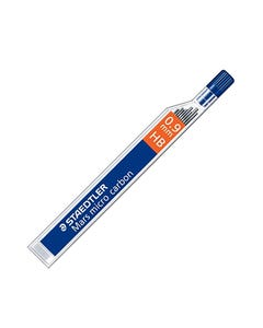 STAEDTLER 250 MARS MICRO CARBON MECHANICAL PENCIL LEAD REFILL HB 0.9MM TUBE 12