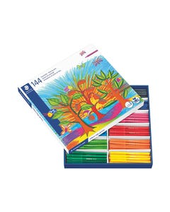 STAEDTLER 325 NORIS CLUB FIBRE TIP PENS 1.0MM ASSORTED CLASSPACK 144
