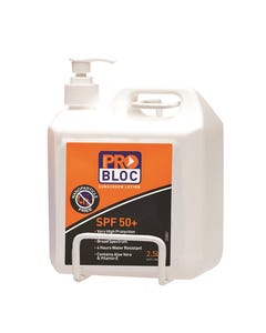 Pro Choice® Sunscreen Wall Bracket 2.5 Litre SSB25