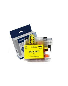 COMPATIBLE BROTHER LC133Y INK CARTRIDGE HIGH YIELD YELLOW