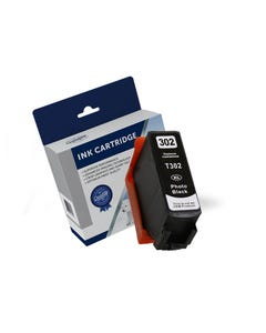 COMPATIBLE EPSON 302XL INK CARTRIDGE HIGH YIELD PHOTO BLACK
