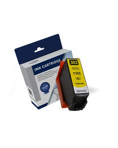 COMPATIBLE EPSON 302XL INK CARTRIDGE HIGH YIELD YELLOW