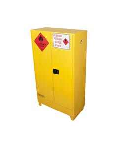 BRADY FLAMMABLE LIQUID STORAGE CABINET VALUE 250 LITRE YELLOW