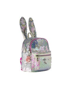 GLITTER CRITTERS CATCHME BACKPACK BUNNY