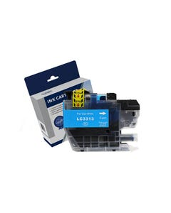 COMPATIBLE BROTHER LC3311C/LC3313C INK CARTRIDGE HIGH YIELD CYAN