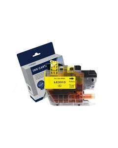COMPATIBLE BROTHER LC3311Y/LC3313Y INK CARTRIDGE HIGH YIELD YELLOW