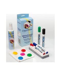 VISIONCHART WHITEBOARD CLEARVISION STARTER KIT