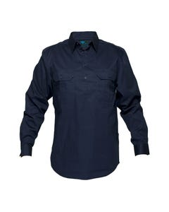 Prime Mover Mens Lightweight Cotton Closed Front Shirt WWL903C