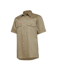 Hard Yakka Short Sleeve Lightweight Drill Ventilated Shirt Y04625