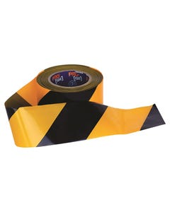 Pro Choice® Barricade Tape - 100mm x 75m Yellow/Black YB10075