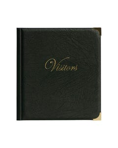 ZIONS CORPORATE VISITORS PASS BINDER