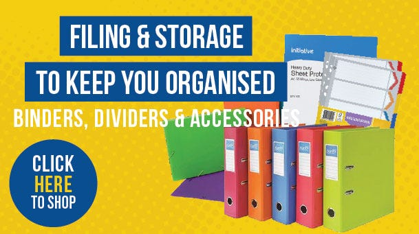 FILING, STORAGE AND DIVIDERS