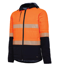 KING GEE REFLECTIVE PUFFER JACKET